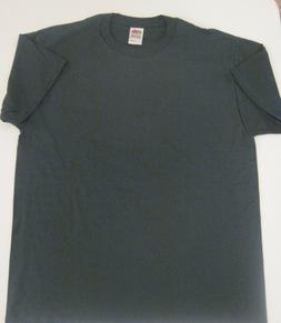 1990's Fruit Of The Loom Best T-Shirt Dark Green Size Mens L