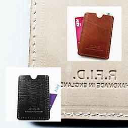 🔥2020 MADE IN UK Men's Wallet RFID Blocking Leather Minim