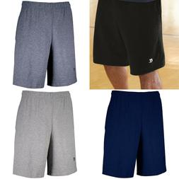 Russell Athletic 25843M Men's Basic Cotton Pocket Shorts