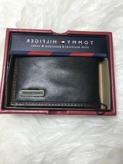 $28 Tommy Hilfiger Men's Leather slim Multicard Passcase & V