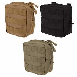 5.11 Tactical 6x6 Military MOLLE Light Nylon Padded Pouch Ge