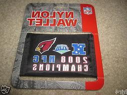Arizona Cardinals 2008 NFC Champions Super Bowl 43 Wallet Ne