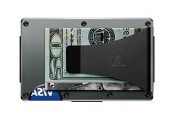 The Ridge Authentic Minimalist Metal RFID Blocking Wallet -