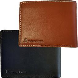 Carhartt Bifold Leather Wallet Men's Rough Cut Billfold Wall