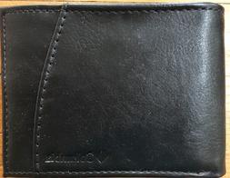 Columbia Bifold Men's Black Leather Wallet