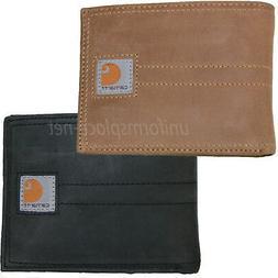 Carhartt Bifold Wallet Men's Leather Wallet Legacy Passcase