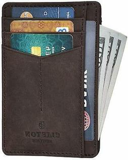 Clifton Heritage Leather Wallets for Men & Women – RFID Bl