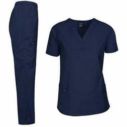 Dagacci Medical Uniform Woman And Man Scrub Set Unisex Top P