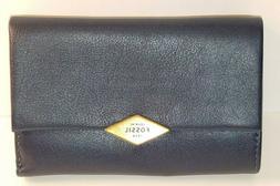 Fossil Fairfax Multifunction Midnight Navy Wallet, MSRP: $95