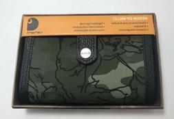 "Carhartt Floral Dark Camo Medium Zip Wallet For Women 3.5"" x"