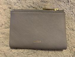 Fossil Gray Woman Small Wallet