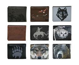 Shagwear Great Outdoors Men's Bi-Fold Faux Leather Wallets