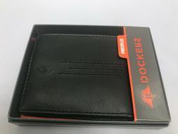 Dockers Handcrafted  Men's Bifold Wallet 31DP220017 BLACK Ne