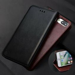 For iPhone XS MAX X 5 6 7 8 Flip Leather Men's Wallet Card S