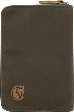 Fjallraven Kanken Passport Wallet Unisex 633 Dark Olive F242