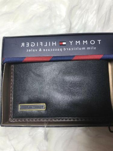 $28 Hilfiger Leather slim & Valet