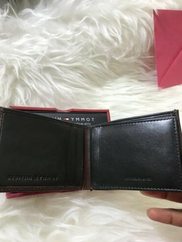 $28 Leather & Valet Bifold