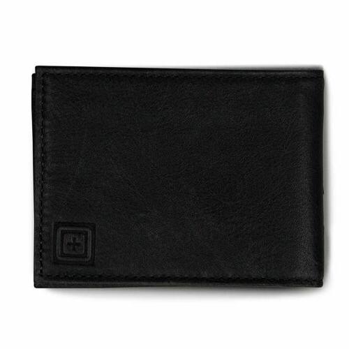 5 11 tactical meru leather bifold wallet
