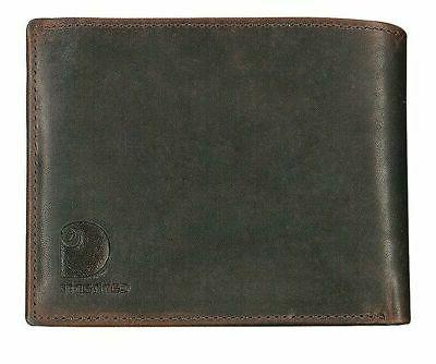 61 2235 20 tri fold wallet leather