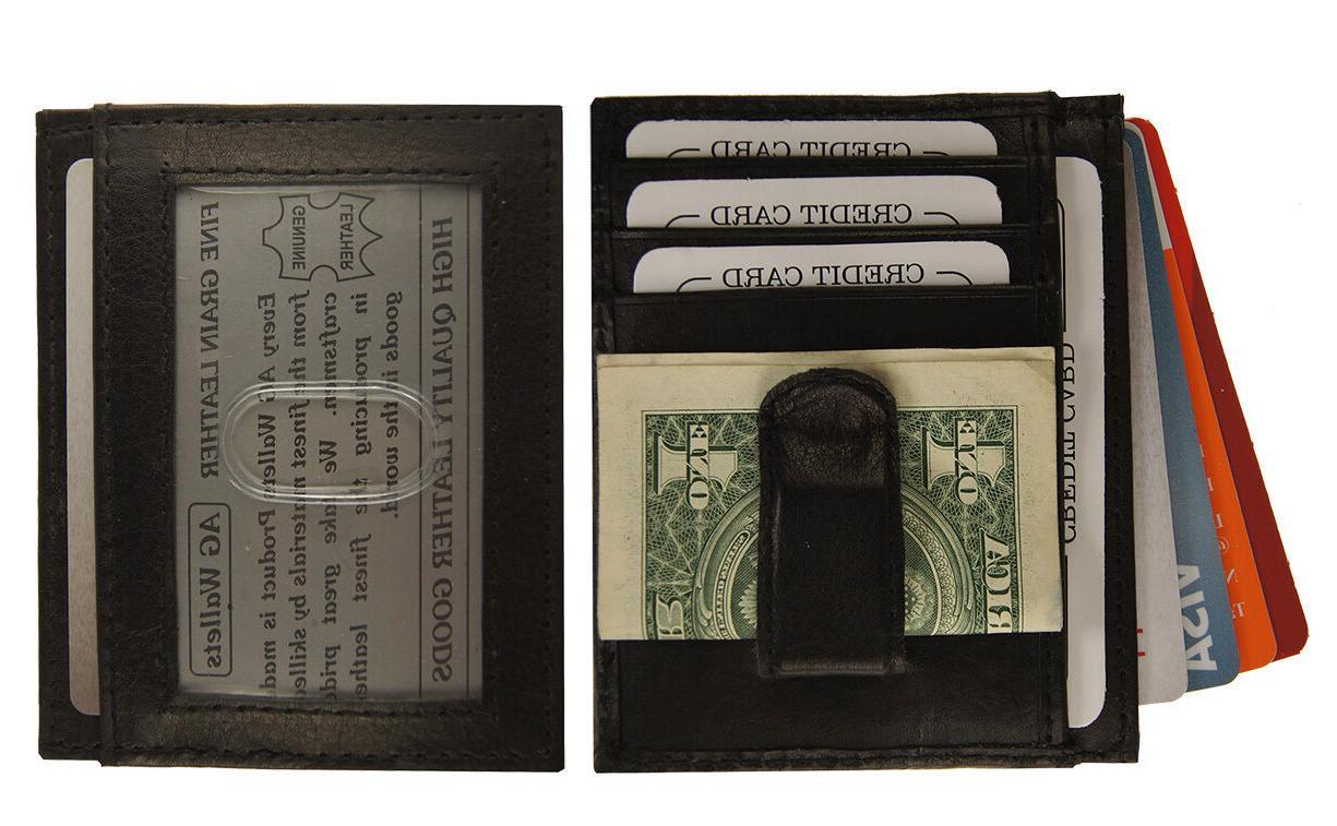 AG Slim Clip Pocket Wallet Credit Holder