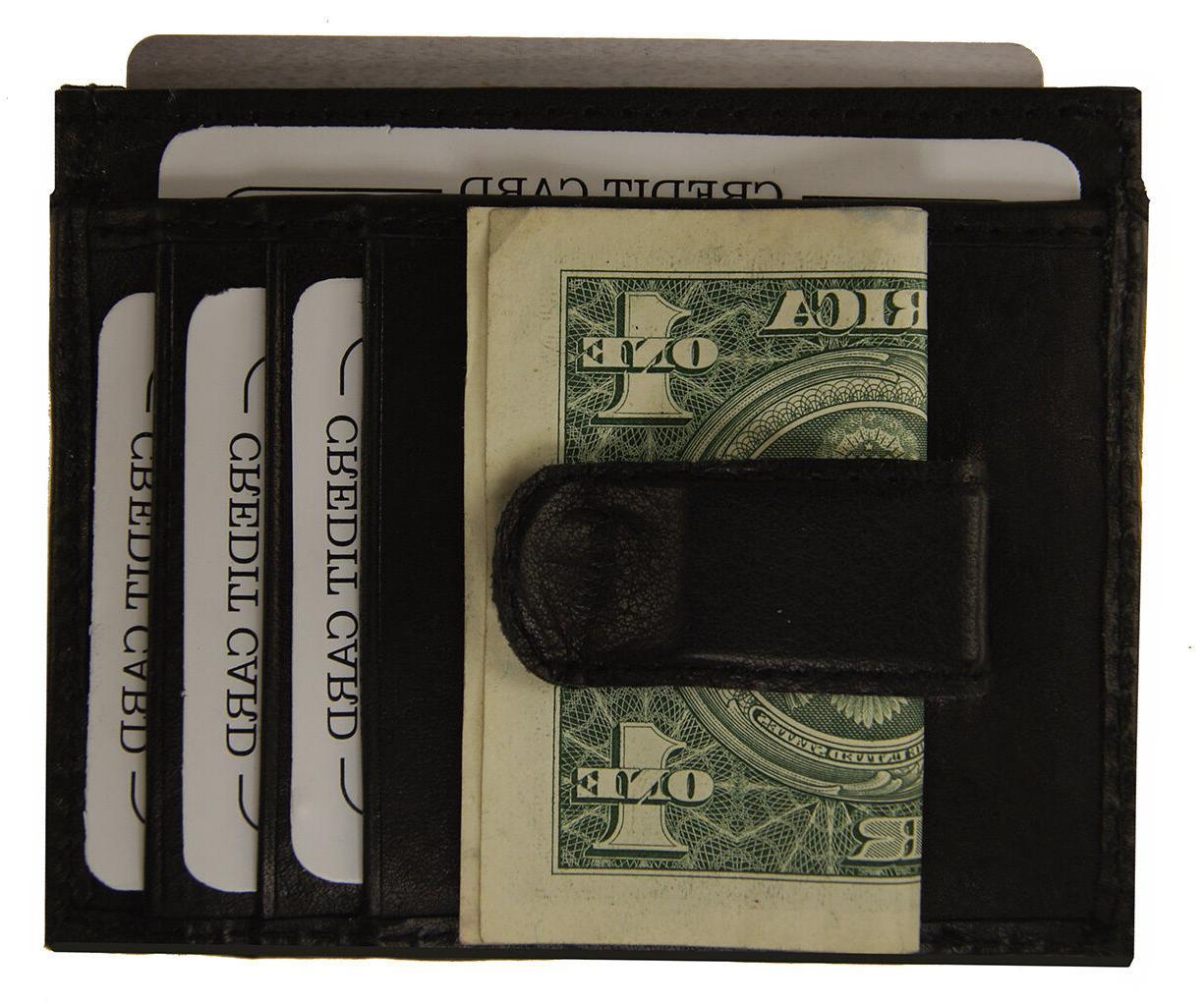 AG Slim Clip Pocket Credit Card Holder