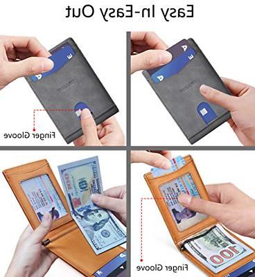 Best Pocket Minimal Wallet Gray