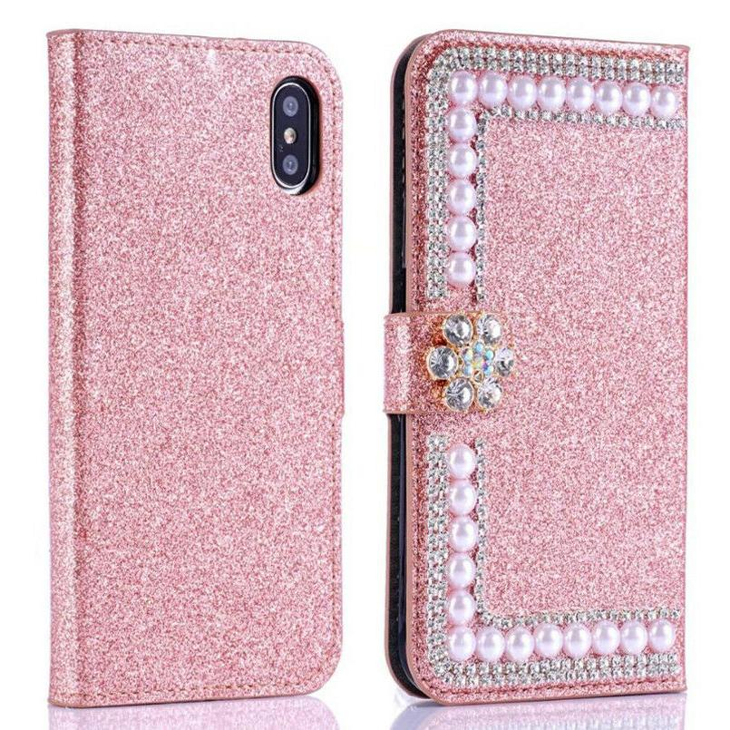 Bling Leather Wallet Women's Case for