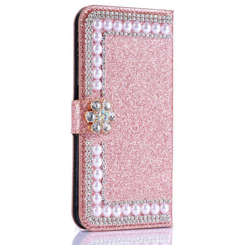 Bling Wallet Case iPhone/Samsung
