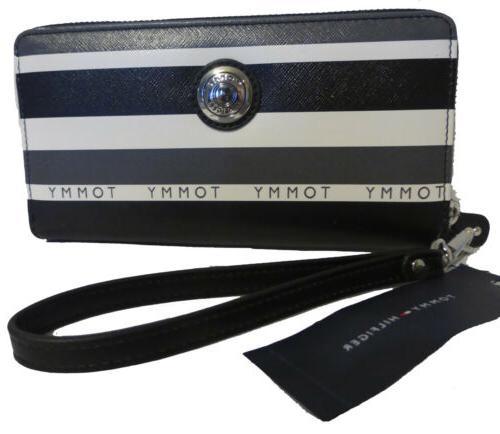 Tommy Double Smartphone Stripe Wallet