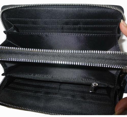 Tommy Zip Smartphone Stripe Zip Wallet Wristlet