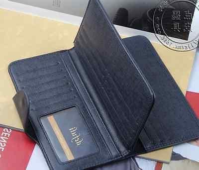Fashion Men's Leather Wallet Pockets ID Card Clutch Bifold Purse