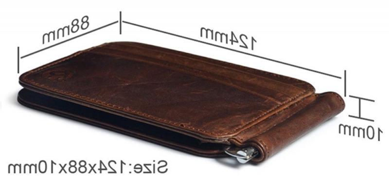 Men's Money Clip Wallet Pocket Holder