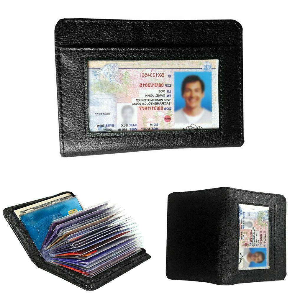 Lock Secure Men Women RFID Blocking Money Holder Wallets