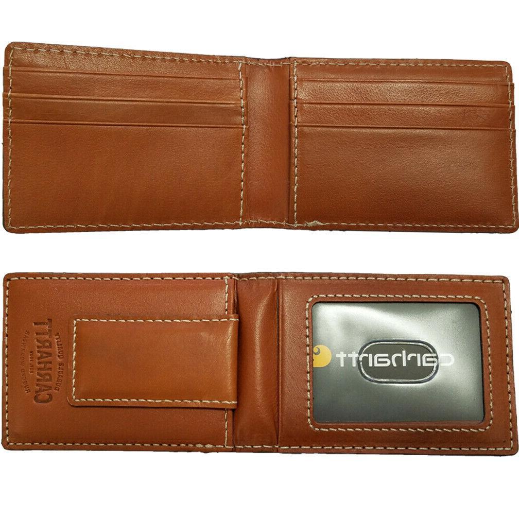 Carhartt Leather Men's Pocket Wallet 61-CH2333