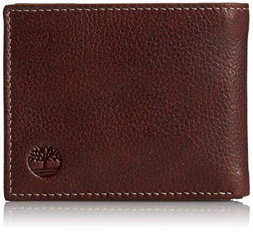men passcase wallet pebble grain