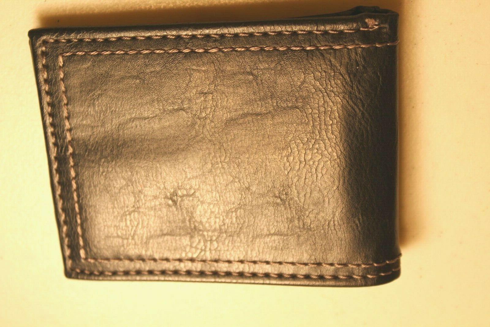 Columbia Men's Wallet 100% Genuine Black NWOT