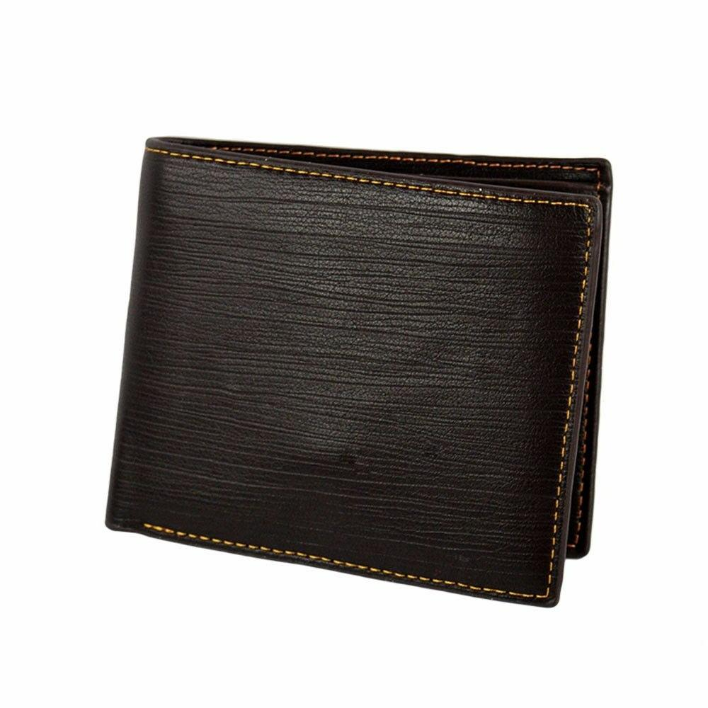 Men's Leather Credit Card Wallet ID Clutch