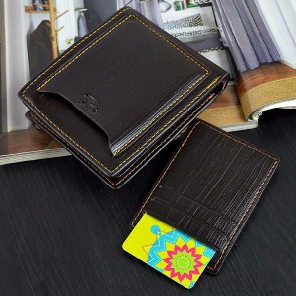 Men's Credit Card Holder Wallet ID Cash Coin Purse Clutch
