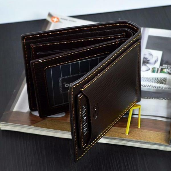 men s genuine leather credit card holder