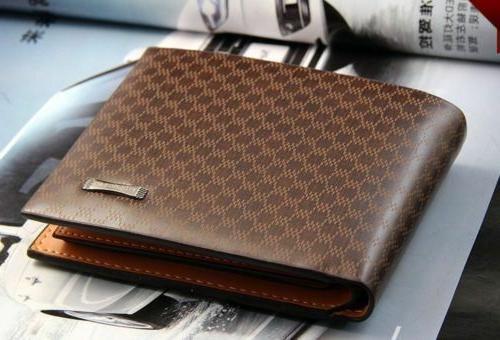 Men's Card Holder Billfold Handbag Slim Clutch
