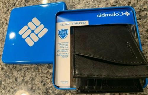Columbia RFID Blocking Extra-Capacity Slimfold