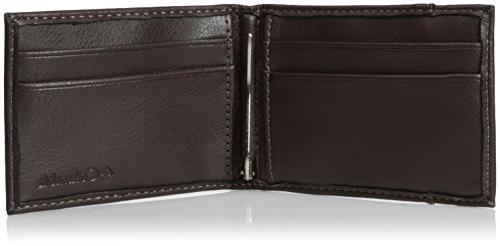 Columbia RFID Blocking Front Pocket Wallet,Merino Brown