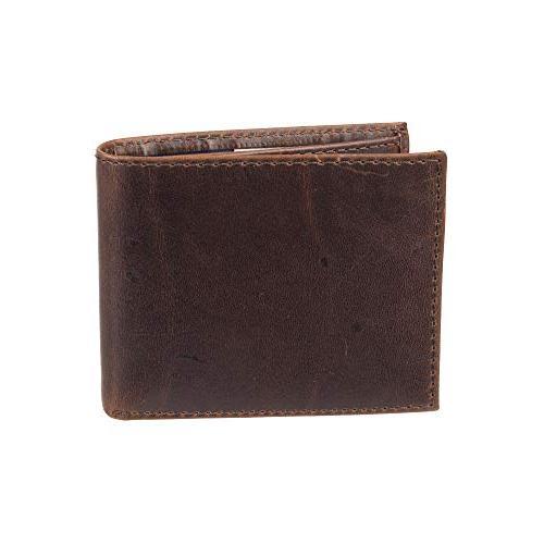 Dockers Blocking Wallet, Brown, One Size