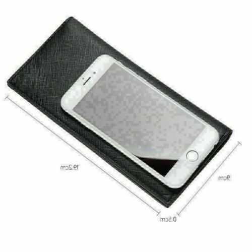 Men's Slim Holder Bifold Long