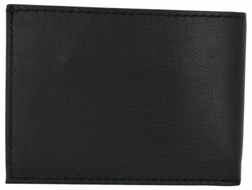 Men's Small Genuine Leather Slim Bifold Wallet