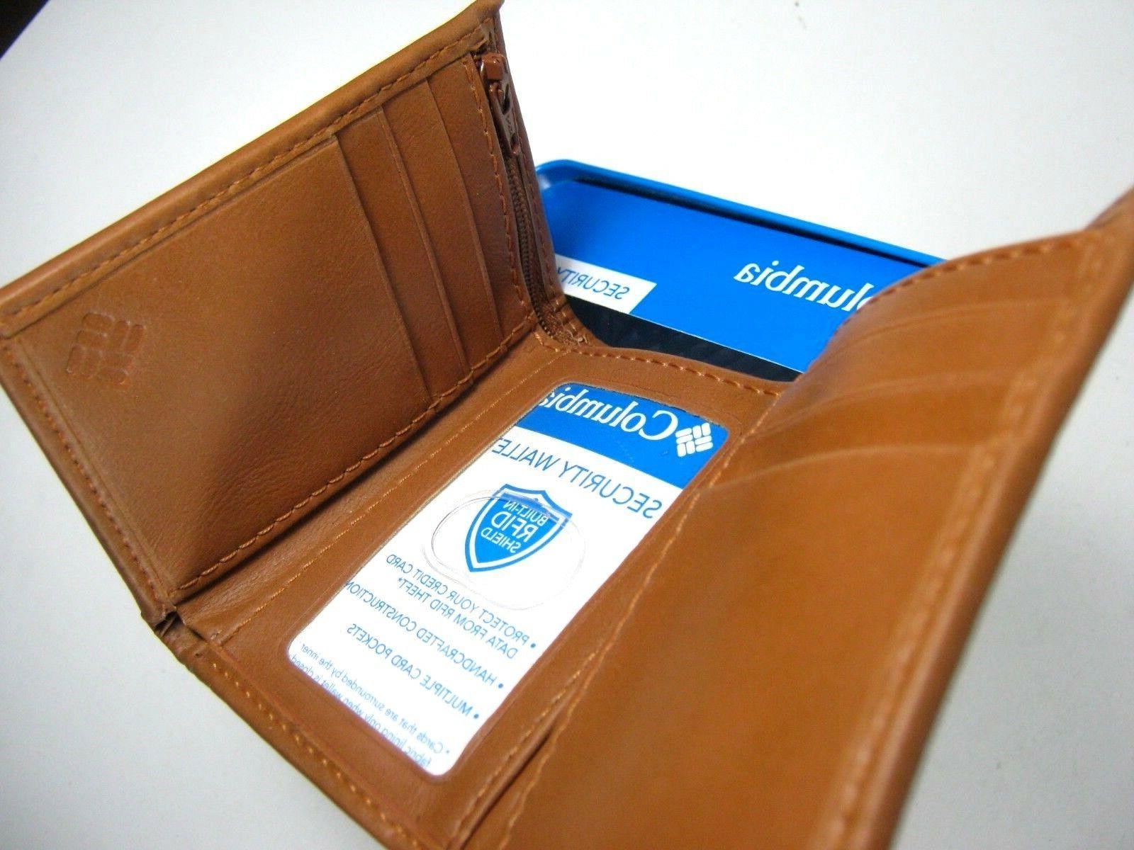 Columbia RFID Tan Zip 31CP110007