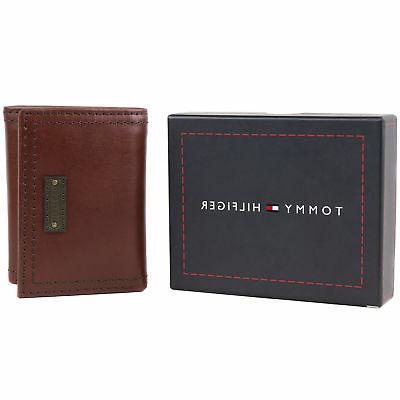 Tommy Trifold Zipper ID Wallet 31TL110021