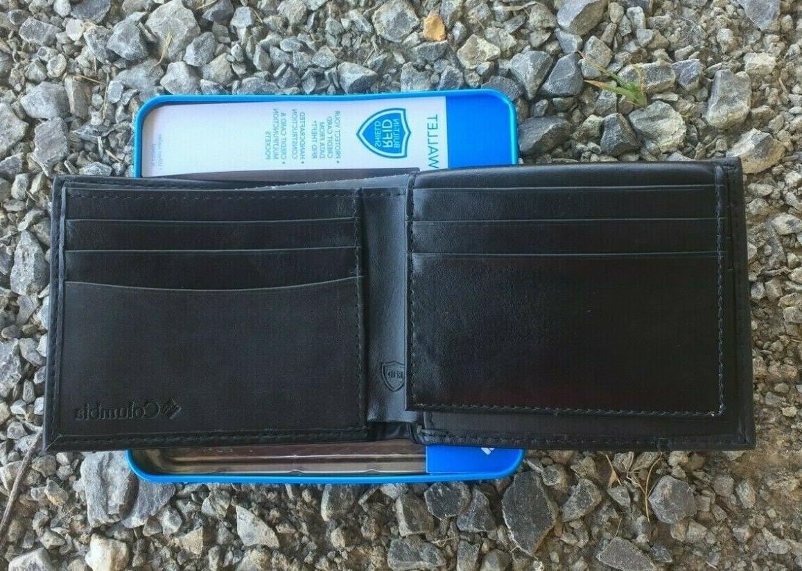 Columbia Bifold Security RFID Black
