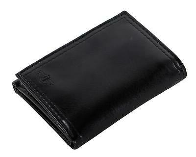 Dockers Mens Trifold Wallet Rfid Blocking Zippered