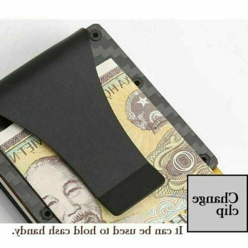 Metal Men's Minimalist Clip RFID